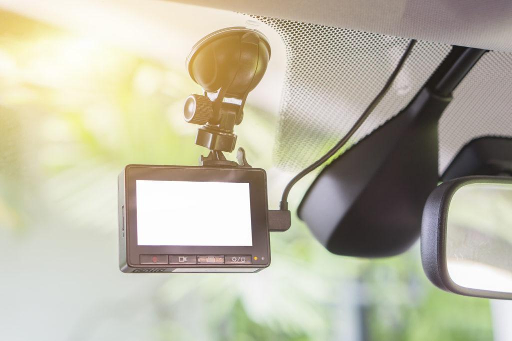 車のビデオレコーダー