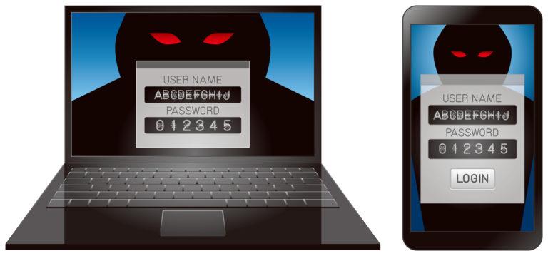 コンピューター犯罪のパスワード