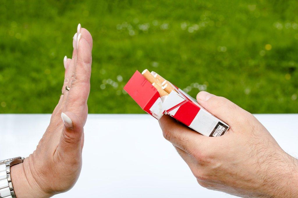タバコお断り