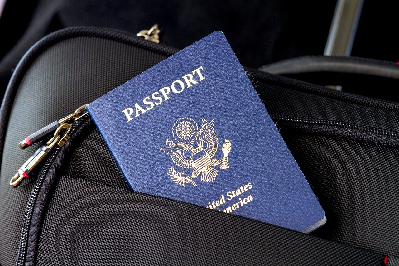 passport, flag, travel