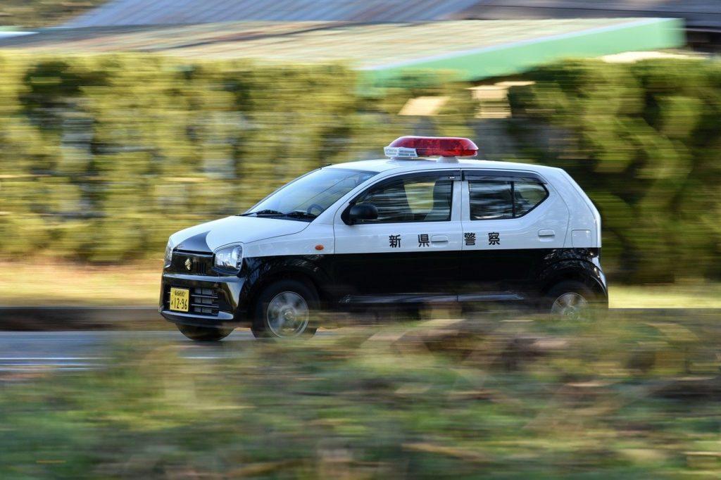 警察のパトカー