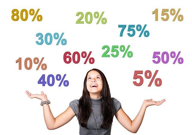 女性 女の子 パーセント