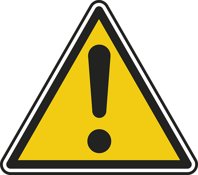 危険, パネル, 道路標識