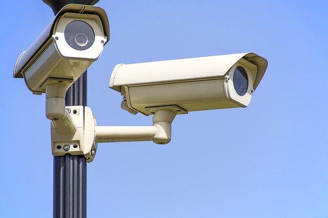 セキュリティハウスの防犯カメラ