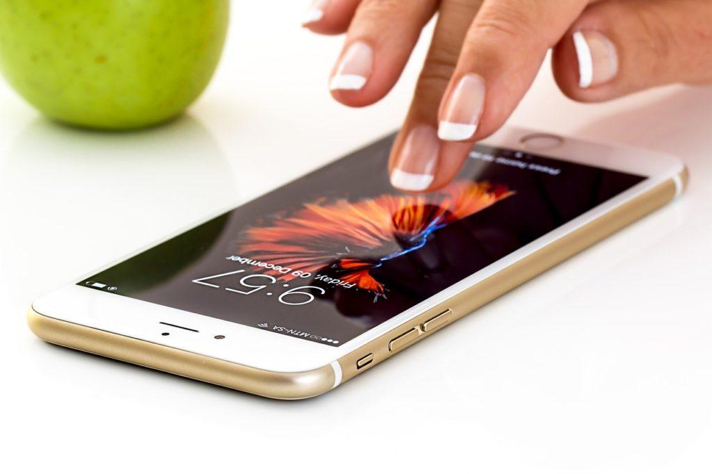 アップルのアイフォン