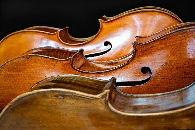 ビンテージのバイオリン