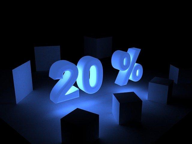 percent, discount, adoption statistics