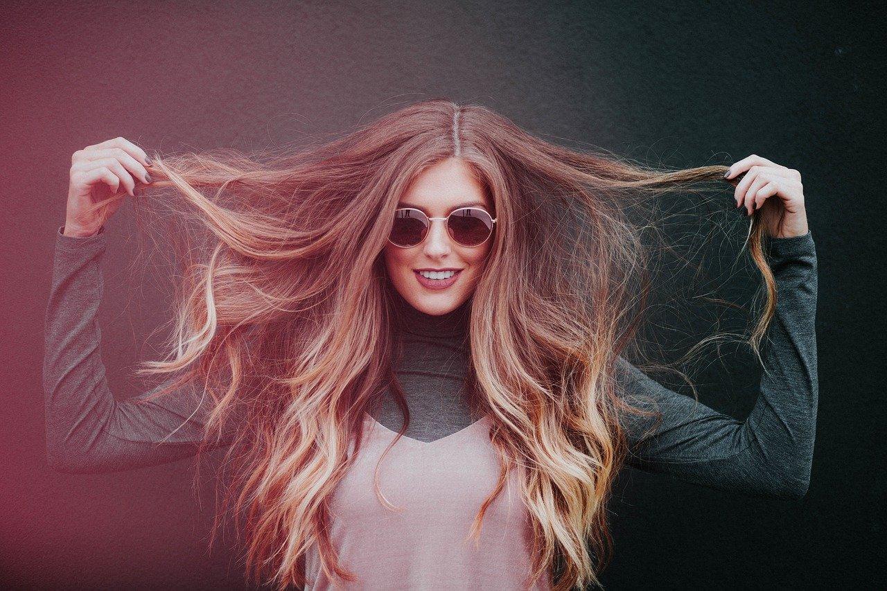 woman, long hair, people