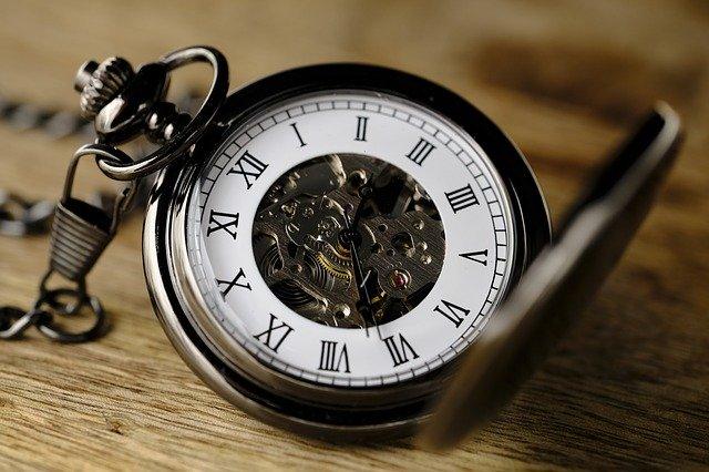 ビンテージの時計