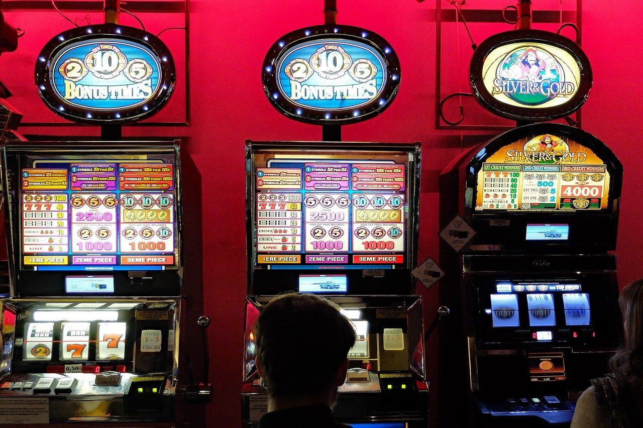 casino, game of chance, slot machines