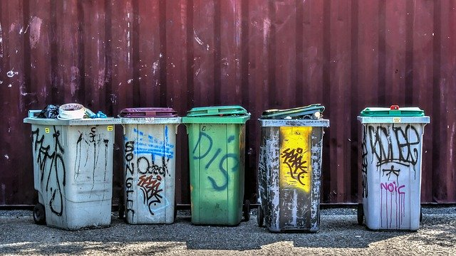 ゴミ箱 落書き