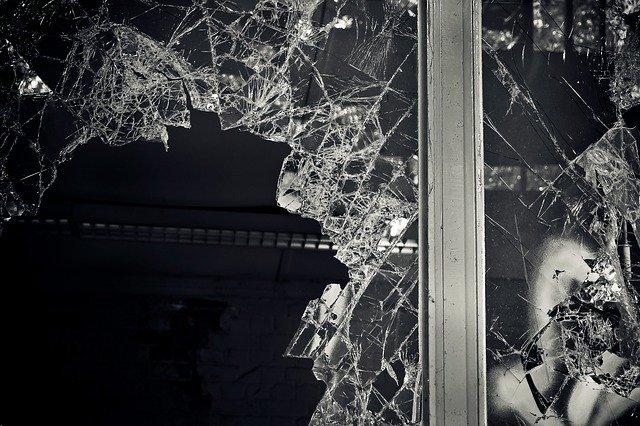 lost places, broken, window