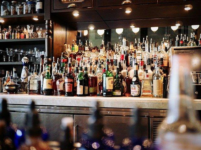 alcoholic beverages, bar, beer