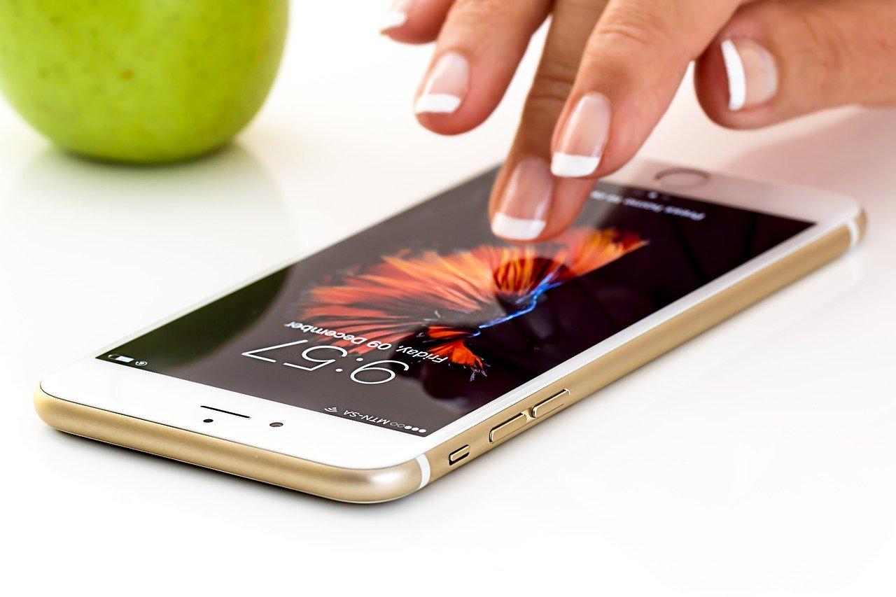 smartphone, cellphone, apple i phone