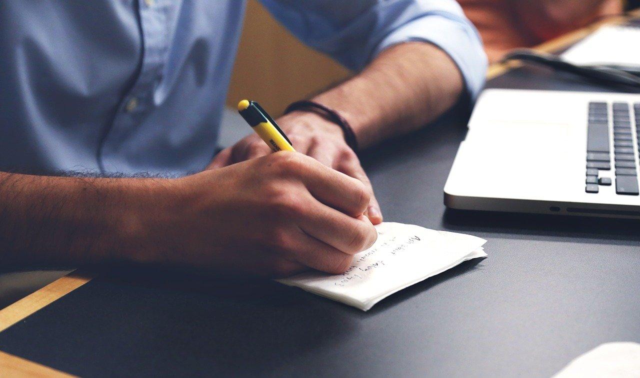 write, plan, desk