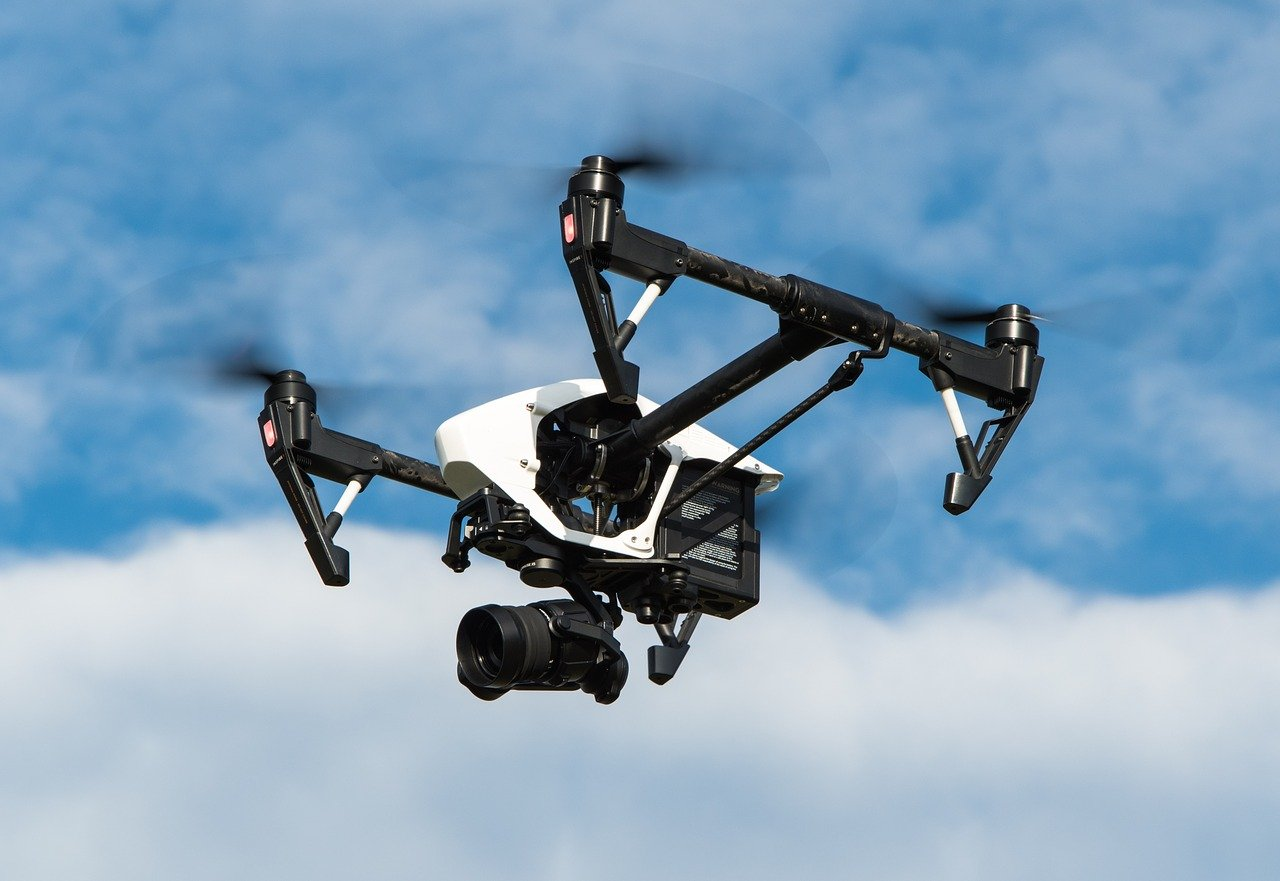drone, multicopter, dji