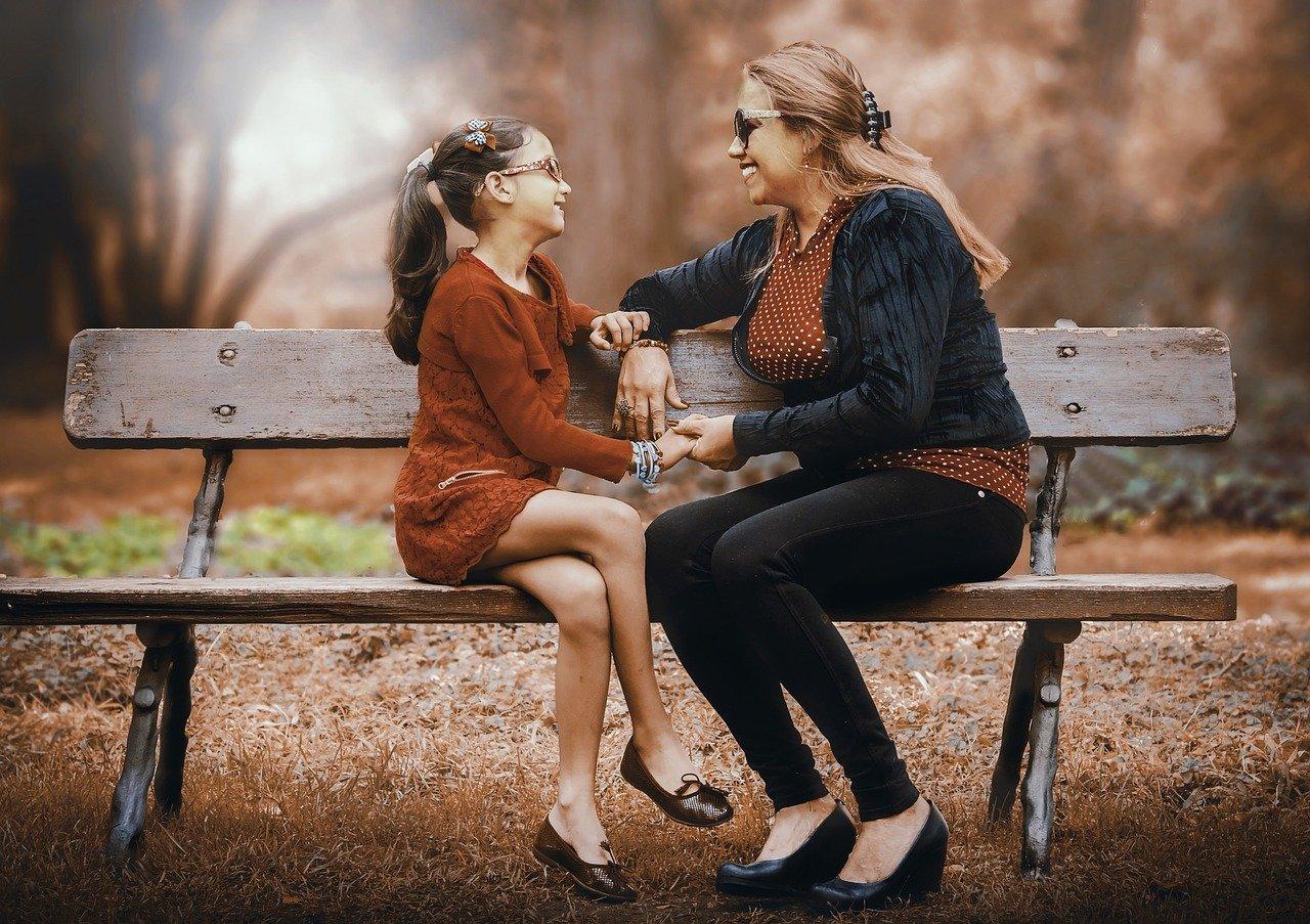 母と娘 レトロ