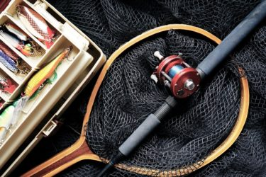 様々な釣り具