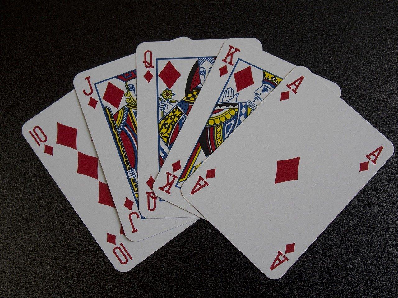ポーカーロイヤルフラッシュ